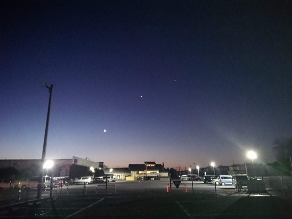 早朝の圏央道入間IC付近